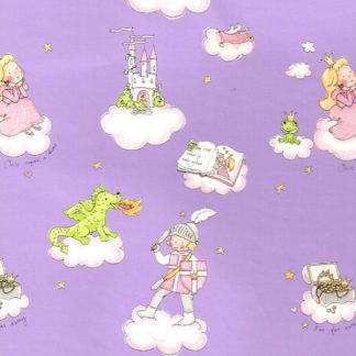 Purple Fairytale Wrapping Paper 57cm x 160m