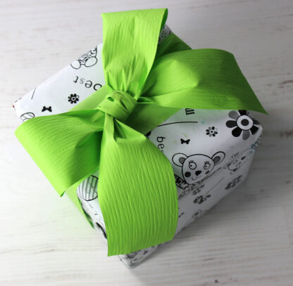 DB Best Friends Wrapping Paper with 50mm Matte Ribbon