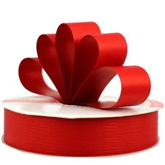 Red Matte Ribbon 31mm