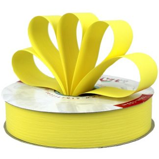 Lemon Matte Ribbon 31mm