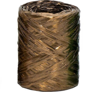 Copper Metallic Raffia