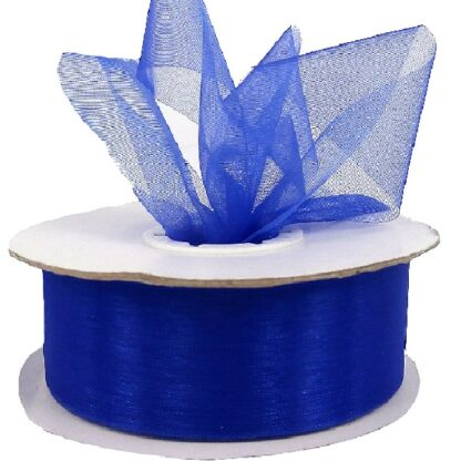 Violet Organza Ribbon 25mm