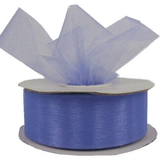 Lilac Organza Ribbon 25mm