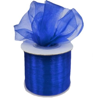 Violet Organza Ribbon 50mm