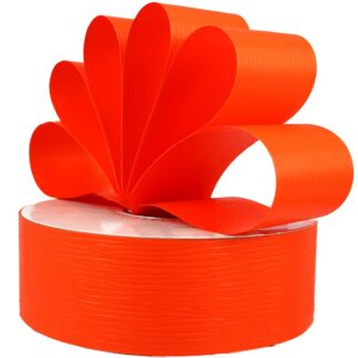Orange Matte Ribbon 50mm