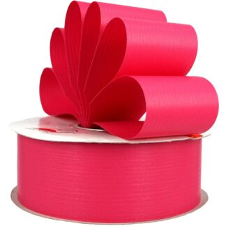 Cerise Matte Ribbon 50mm