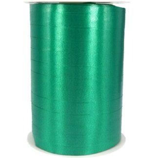 Emerald Satin Ribbon 10mm