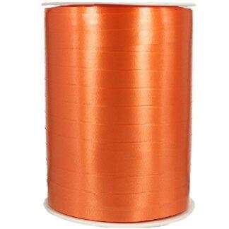 Tangerine Satin Ribbon 10mm