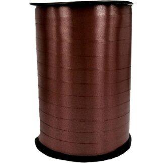 Chocolate Satin Ribbon 10mm