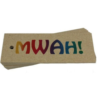 MWAH - Kraft Gift Tag