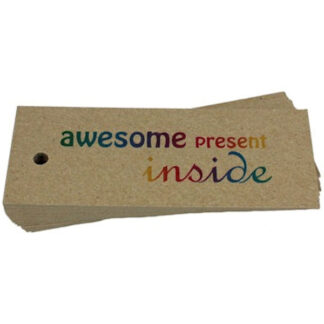 Awesome - Kraft Gift Tag