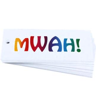 MWAH White Gift Tag