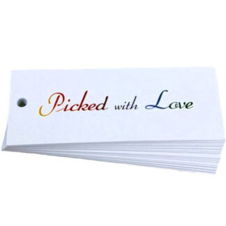 Picked With Love Gift Tag