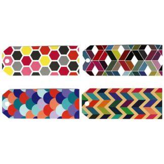 Geometric Mix Gift Tags