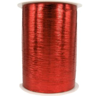 Red Metallic Bouquet Ribbon