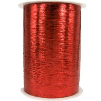 Red Metallic Bouquet Ribbon