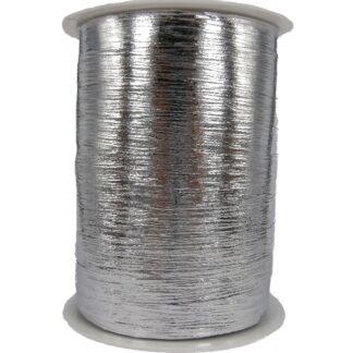 Silver Metallic Bouquet Ribbon