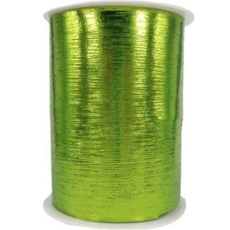 Lime Metallic Bouquet Ribbon