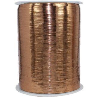 Copper Metallic Bouquet Ribbon