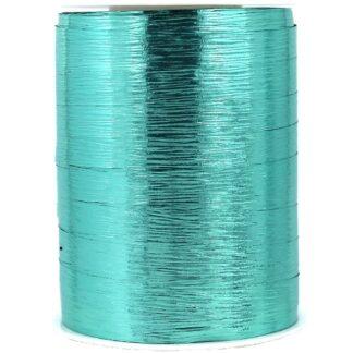 Mint Metallic Bouquet Ribbon