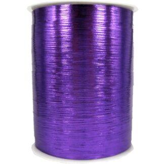 Violet Metallic Bouquet Ribbon