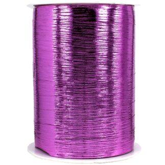 Cerise Metallic Bouquet Ribbon