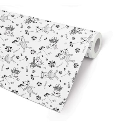 Double Sided Best Friends Wrapping Paper