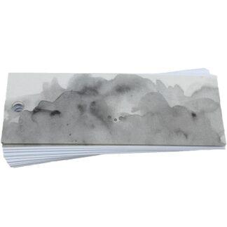 Grey Wash Gift Tag