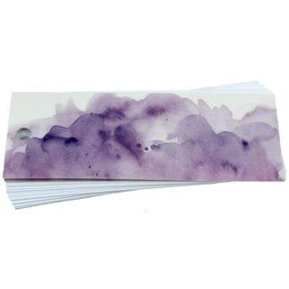 Purple Wash Gift Tag