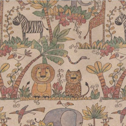 Coloured Jungle Brown Kraft Wrapping Paper 57cm x 160m