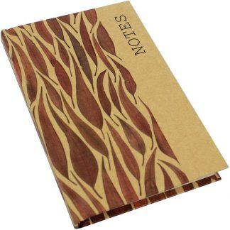 Kraft Note Book - Gum Leaves
