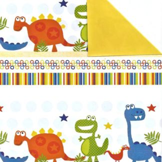 Double Sided Dinosaurie Wrapping Paper 57cm x 160m