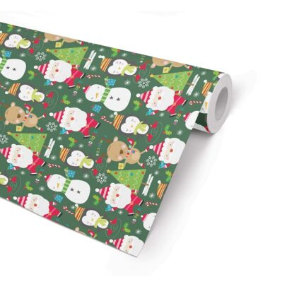 Double Sided South Pol Wrapping Paper