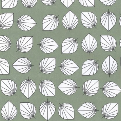 Matte Falling Leaves Wrapping Paper 57cm x 175m
