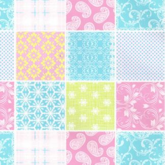 Pastel Patch Wrapping Paper 57cm x 160m