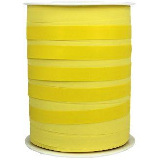 Yellow Bicolour Matte Ribbon 10mm