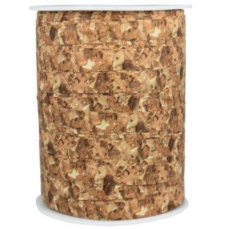 Natural Cork Matte Ribbon 10mm