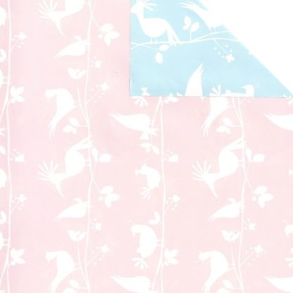 Double Sided Baby Birds Wrapping Paper 57cm x 175m