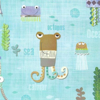 Octopus Wrapping Paper 57cm x 160m