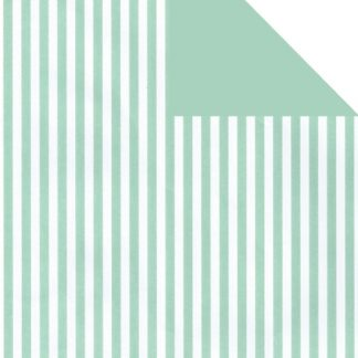 Matte DB Mint Five Stripe Wrapping Paper 57cm x 160m