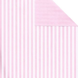 Matte DB Pink Five Stripe Wrapping Paper 57cm x 160m