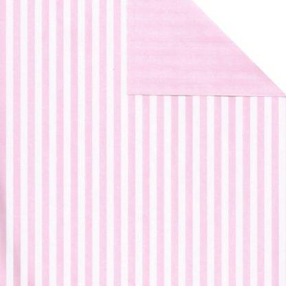Matte DB Pink Five Stripe Wrapping Paper 57cm x 160m