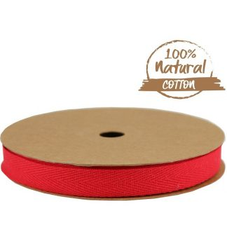Red Cotton Ribbon