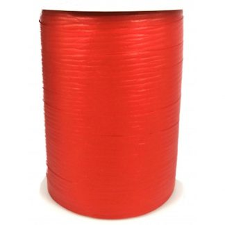 Red Matte Ribbon 10mm