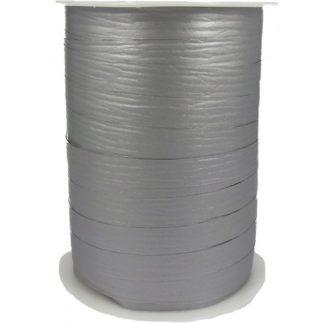 Silver Matte Ribbon 10mm