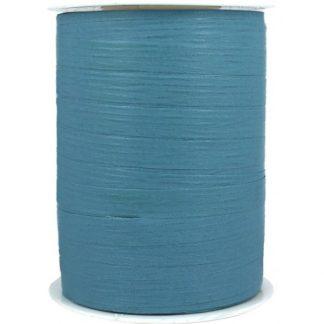 Steely Blue Matte Ribbon 10mm