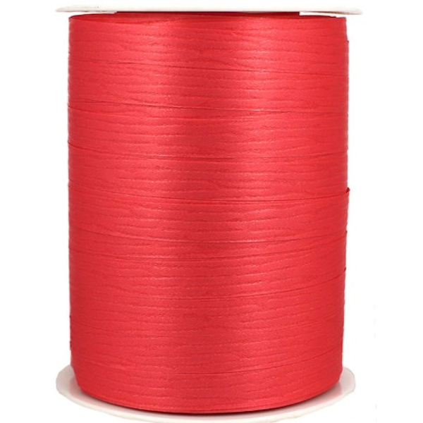 Coral Matte Ribbon 10mm