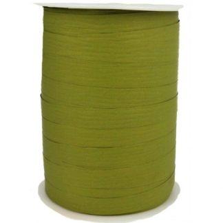 Olive Matte Ribbon 10mm