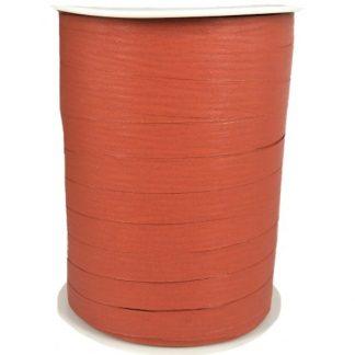 Rust Matte Ribbon 10mm