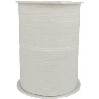 White Matte Ribbon 10mm
